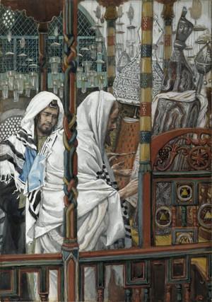 Isus poučava u sinagogi - James Tissot
