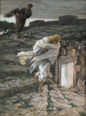 Sveti Petar i sveti Ivan trče do grobnice - James Tissot