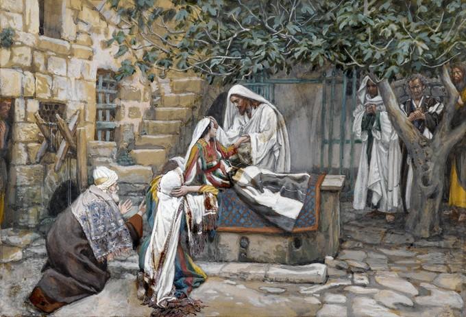 Jairova kći - James Tissot