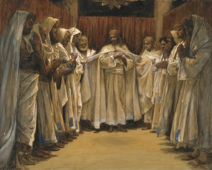Posljednja propovijed našega Gospodina - James Tissot